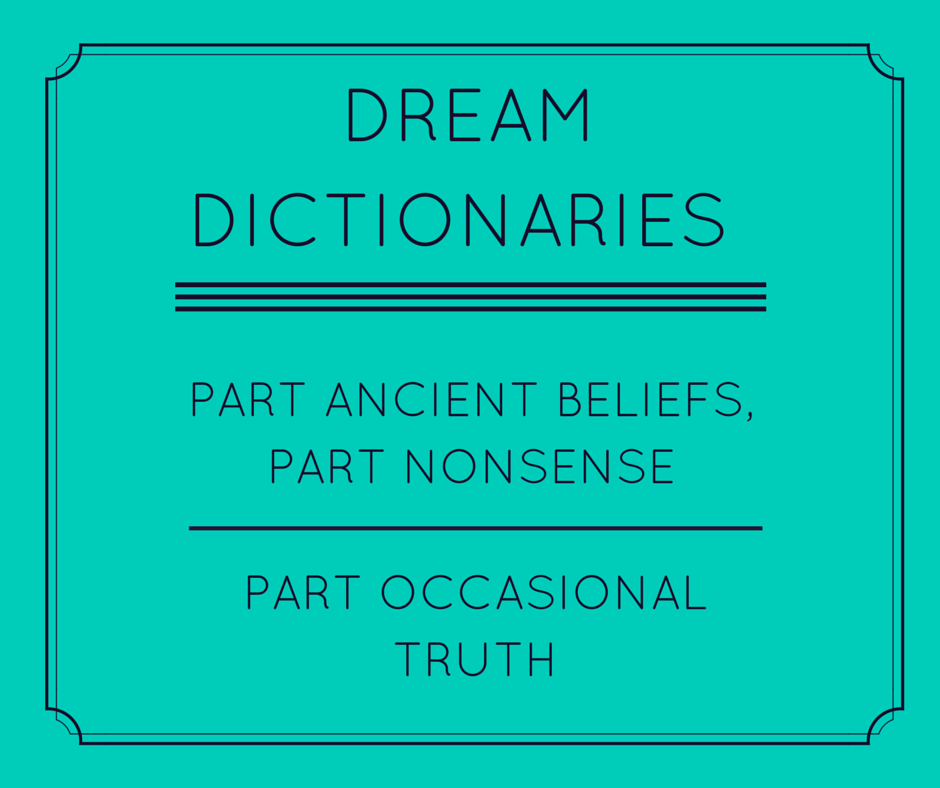 Dream Dictionaries